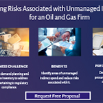 Mitigating Risks Associated with Unmanaged Indirect Spend for an Oil and Gas Firm.