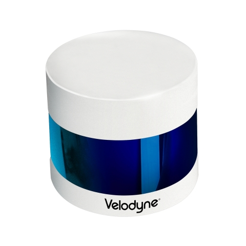 The Velodyne Puck 32MR™ bolsters Velodyne's robust portfolio of patented sensor technology, delivering rich perception data for mid-range applications. (Photo: Business Wire)