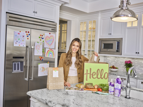 HelloFresh and Jessica Alba Launch New Multi-Phase Collaboration Starting with First-Ever Date Night Box (Photo: Business Wire)