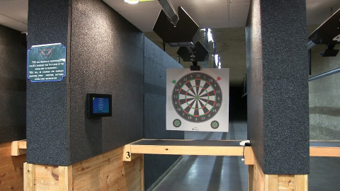 ProImage live fire target system with projected image with wireless carrier (Photo: Business Wire)