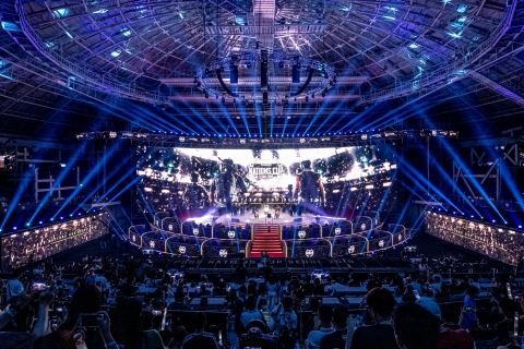 PUBG Nations Cup 2019 at the Jangchung Arena (Photo: Business Wire)