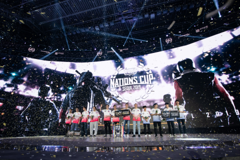 Team Russia Wins PUBG Nations Cup 2019 at the Jangchung Arena in Seoul, South Korea (Photo: Business Wire)