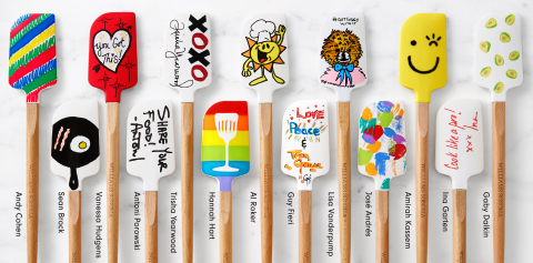 Williams Sonoma Launches Celebrity Designed Spatulas Benefiting No Kid Hungry (Photo: Business Wire)