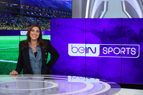 Hope Solo in beIN SPORTS Studio (Photo: Business Wire)