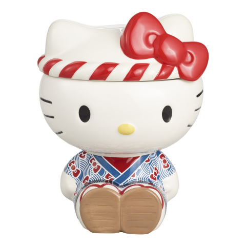 Hello Kitty Omatsuri Cookie Jar Exclusively at Cost Plus World Market  (Photo: Business Wire)