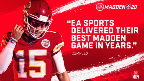 EA SPORTS Madden NFL 20 Scores Early With Biggest Ever Digital Launch in Its First Week on Sale | Seeking Alpha