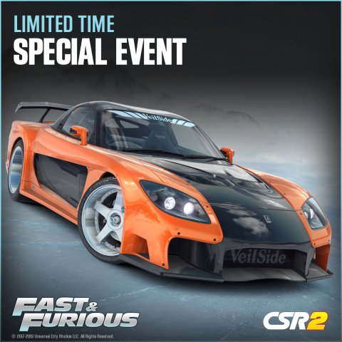Hobbs & Shaw Hit the Streets in Zynga's CSR Racing 2 (Photo: Business Wire)