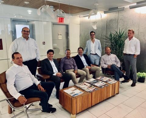 Besen Partners (left to right): Stuart Rich, Sanjay Gandhi, Matthew Slonim, Michael Besen, Matt Mager, Ron Cohen, Daniel Steinberg & Tim Serignese (not featured, Angela Ortiz) (Photo: Business Wire)