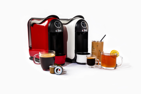 Clio Coffee's brewer comes in two dynamic color options. (Photo: Business Wire)