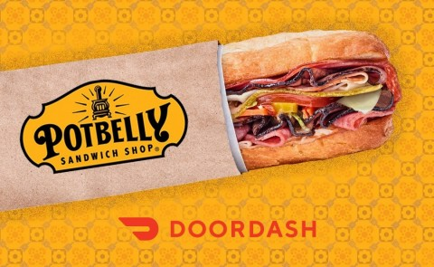 Potbelly Sandwich Shop Partners with DoorDash to Deliver Delicious Favorites (Photo: Business Wire)