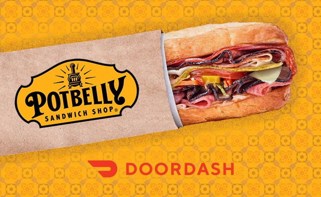 Potbelly Sandwich Shop Partners with DoorDash to Deliver