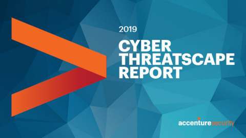 Accenture releases 2019 Cyber Threatscape Report, identifies top threats influencing the cyber landscape and reveals emerging disinformation techniques (Graphic: Business Wire)