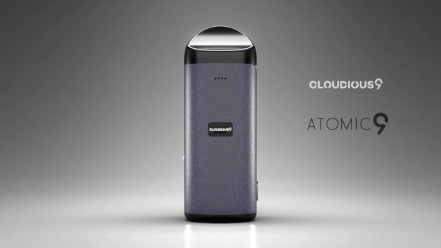 Cloudious9 is pleased to introduce the revolutionary dry herb vaporizer, the Atomic9.