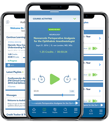 Wolters Kluwer helps physicians stay current on emerging evidence by making the Audio Digest Topical Collection accessible via its mobile app or online (Photo: Business Wire)