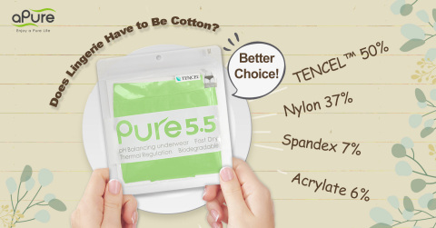 Pure5.5 is perfectly designed for sensitive skin around the privates and helps to promote the speedy growth of GOOD bacteria in the vagina. (Photo: Business Wire)