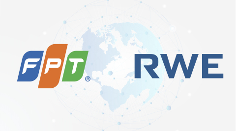 Following five years of partnership, FPT and RWE has prolonged our service agreement for digital services and solutions until 2024! (Graphic: Business Wire)