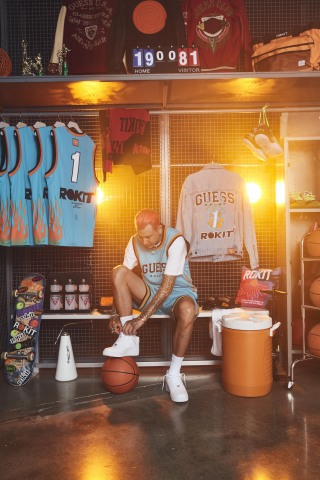 GUESS JEANS U.S.A. Presents ROKIT for GUESS Sport Advertising Campaign (Photo: Business Wire)