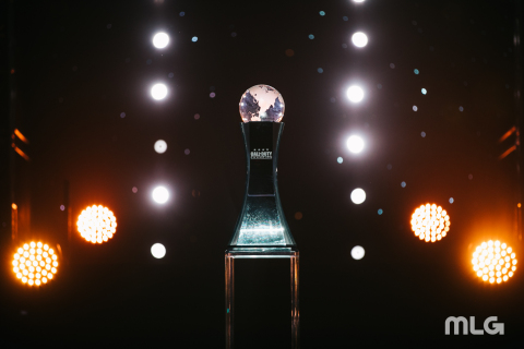 The Call of Duty World League Championship Trophy (Photo: Business Wire)