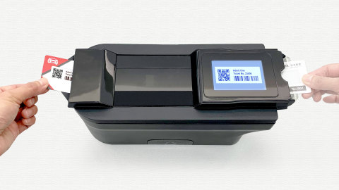 E Ink to Showcase New Badge Print Technology at Touch Taiwan 2019 (Photo: Business Wire)