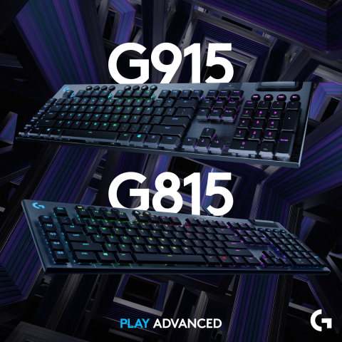 Polished design, innovative technology, and the best practices in engineering have seamlessly blended to create the next dimension of gaming: introducing the G915 keyboard by Logitech G. (Graphic: Business Wire)