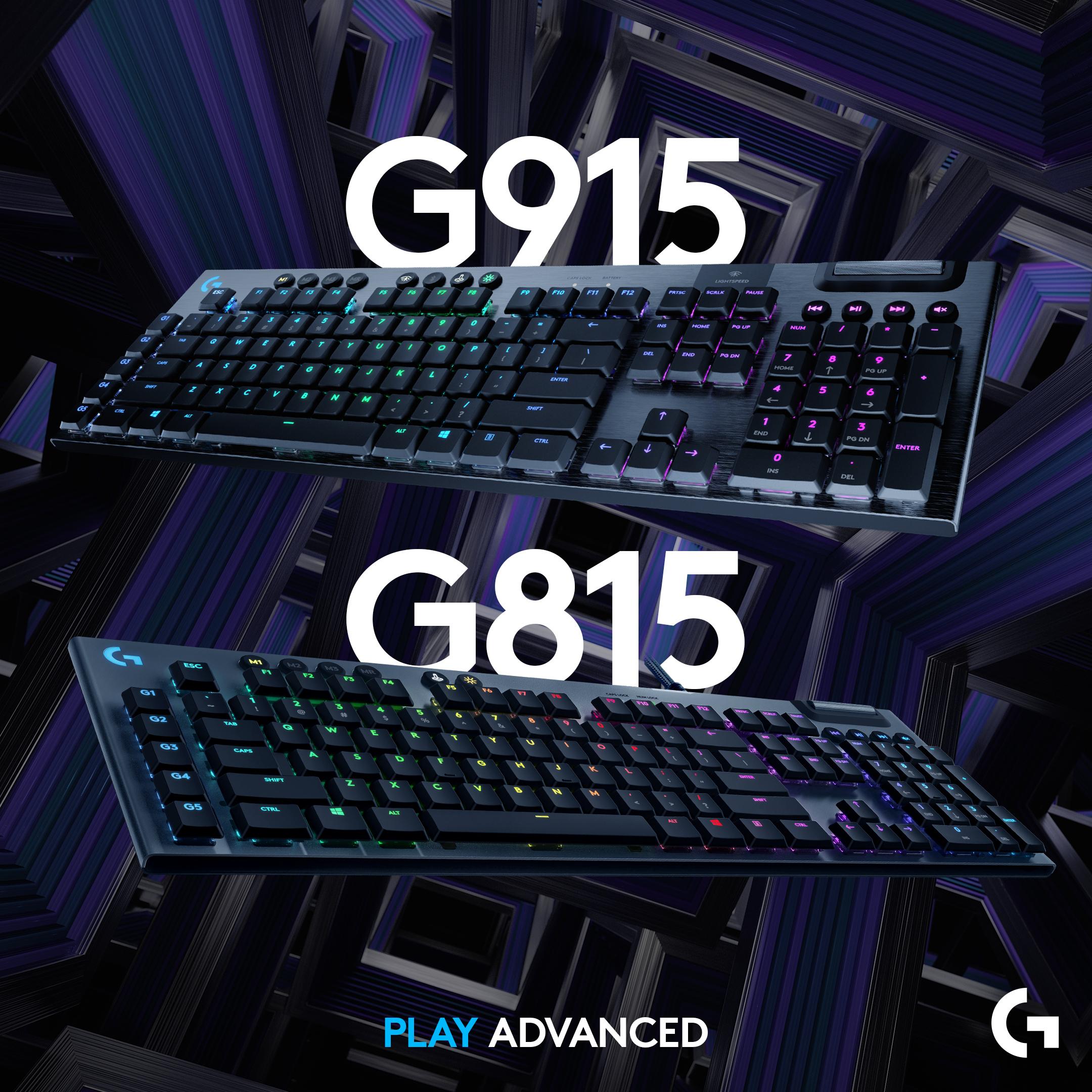 Logitech G915 a G815