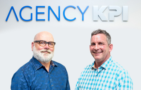 The founders of AgencyKPI, Bobby Billman and Trent Richmond. (Photo: Business Wire)