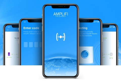 With the AmpliFi Teleport App everyone can browse securely from an AmpliFi user's home network for free (Photo: Business Wire)