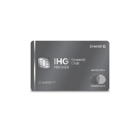 IHG® Rewards Club Premier Credit Card Launches Most Rewarding Offer Yet (Photo: Business Wire)