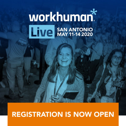 Workhuman Live registration is now open! (Photo: Business Wire)