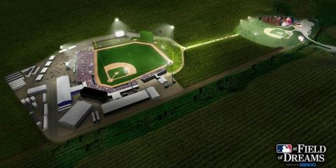 Rendering of Major League Baseball's Field of Dreams (Photo: Business Wire)