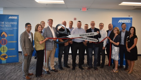 Anixter Opens New Facility in Roseville, California (Photo: Business Wire)