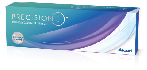 Alcon PRECISION1® contact lenses with SMARTSURFACE® Technology