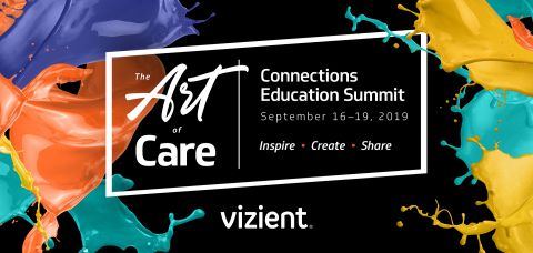 Vizient's 2019 Fall Connections Education Summit offers a comprehensive view of Vizient solutions, along with general sessions, interactive learning opportunities and dedicated time to network with colleagues. (Graphic: Business Wire)