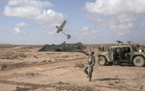 AeroVironment RQ-11B Raven Small Unmanned Aircraft System designed for land-based operations (Photo: Tech. Sgt. John Winn)