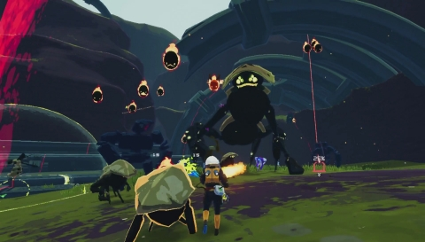 Risk of Rain 2, developed by Hopoo Games and published by Gearbox Publishing, is the sequel to classic multiplayer roguelike Risk of Rain, adding an extra dimension and more challenging action. (Photo: Business Wire)