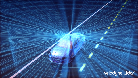 The Velodyne Alpha Puck™ is a lidar sensor specifically made for autonomous driving and advanced vehicle safety at highway speeds. (Photo: Business Wire)