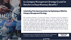 Is a Category Management Strategy Crucial for Retailers to Reap Monetary Benefits?
