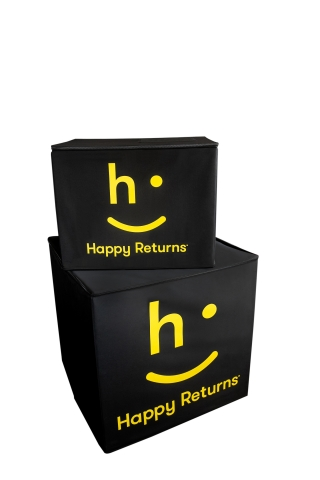 Happy Returns Launches Cardboard Free Returns Program (Photo: Business Wire)