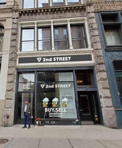 2nd Street New York, store exterior (Photo: Business Wire)