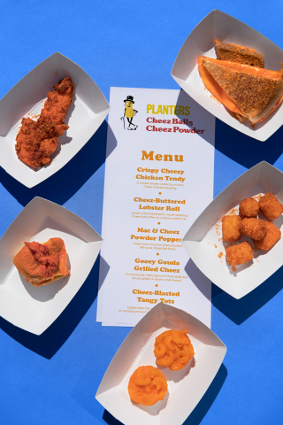 Cheez Balls Food Truck Menu (Photo: Business Wire)