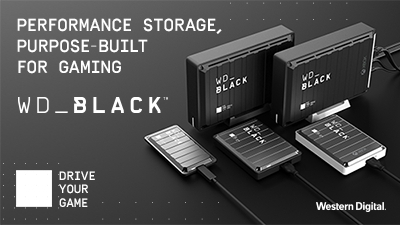 Western Digital's newest WD_BLACK™ gaming portfolio of products for PC and console gamers (Graphic: Business Wire)