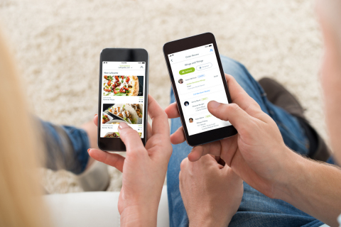The new, updated restaurant food delivery app from Waitr is designed to create a more personalized and engaging user experience. (Photo: Business Wire)