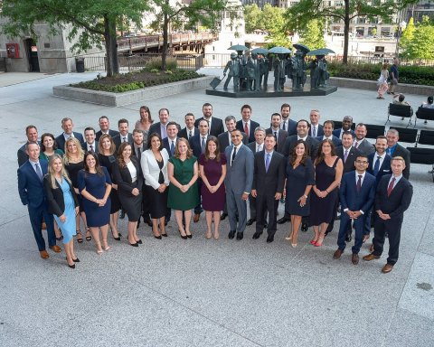 New Grant Thornton LLP partners, principals and managing directors (Photo: Business Wire)