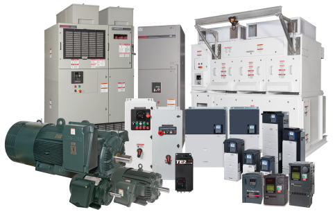 Low Voltage and Medium Voltage Motors, Drives and Power Controls (Photo: Business Wire)