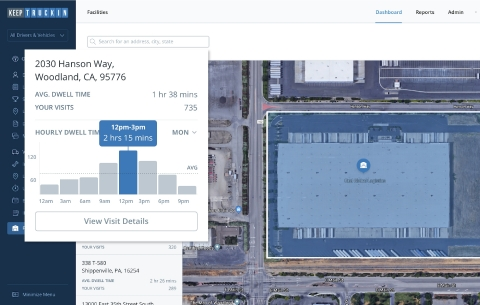 KeepTruckin Facility Insights Tool (Photo: Business Wire)