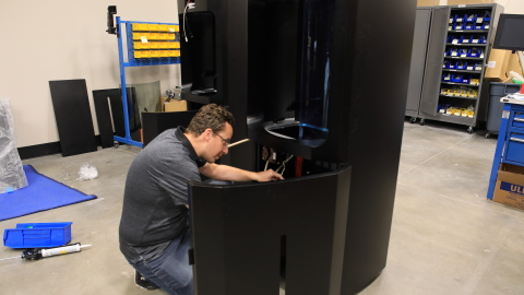 Manufacturing Nexa3D's flagship NXE400 printer (Photo: Business Wire)