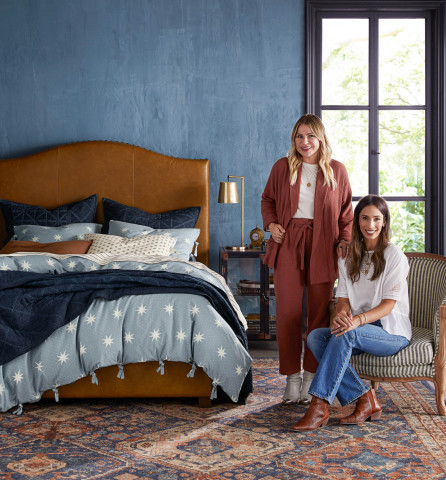 Emily and Meritt exclusively for Pottery Barn (Photo: Business Wire)