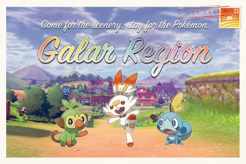 """Kicking off at PAX West next weekend in Seattle, and popping up in select cities across the U.S., fans will be able to stop by the """"Galar Visitors Center"""" to take their Galar region passport photo, speak with """"tour guides"""" to learn more about regional activities and characters, and receive special themed items, while supplies last. (Photo: Business Wire)"""