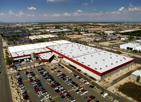 Avnet's McKemy Distribution Center in Chandler, Arizona has secured Foreign-Trade Zone authorization from the U.S. Bureau of Customs and Border Protection. (Photo: Business Wire)