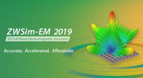 ZWSim-EM 2019 for electromagnetic analysis (Graphic: Business Wire)
